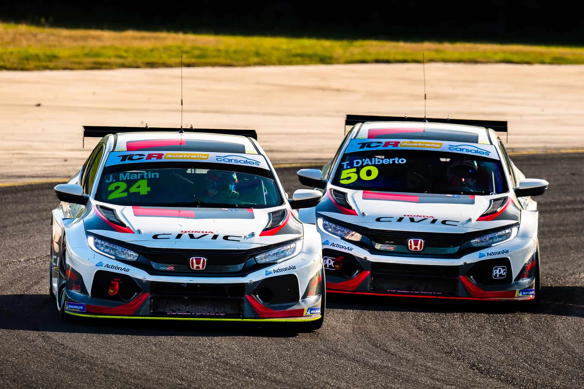 Real world track tests means date changes for TCR Australia SimRacing Series