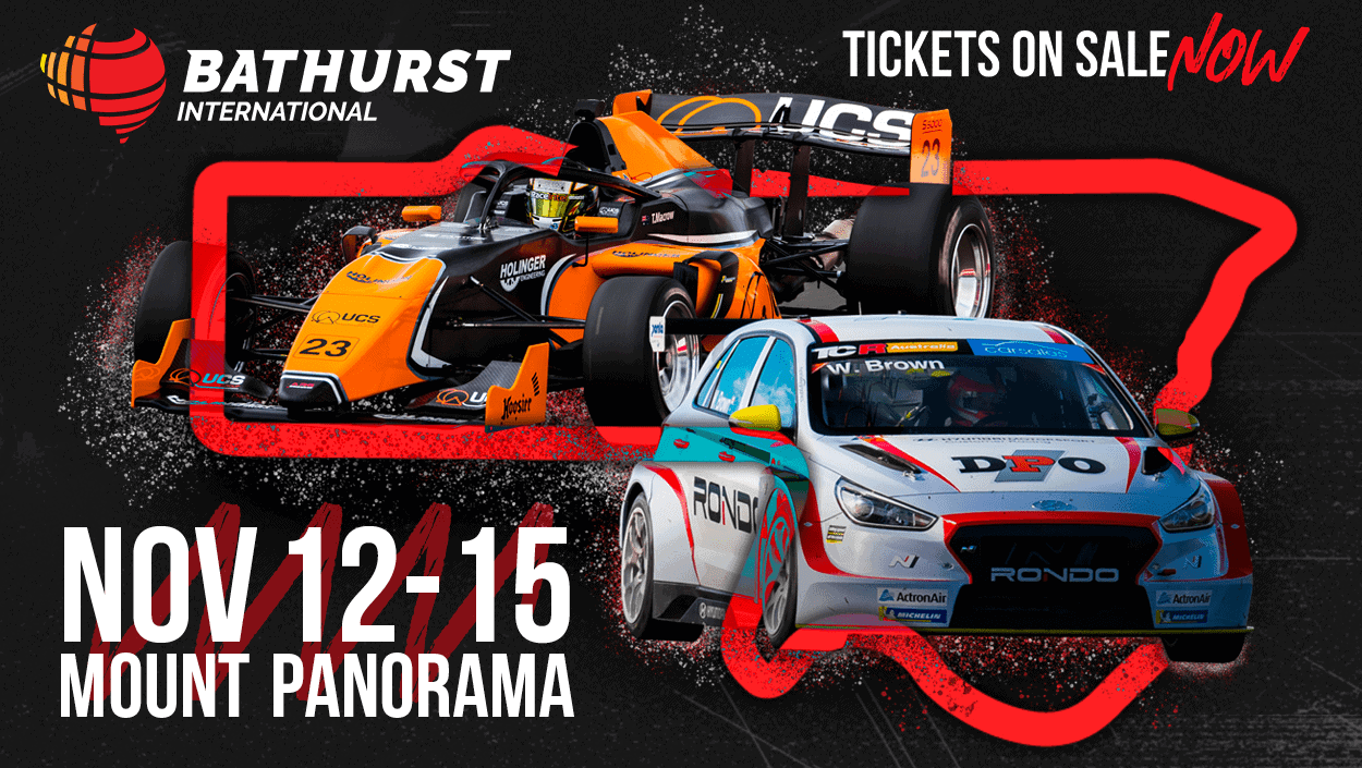 Bathurst International tickets on sale for Mount Panorama's biggest-ever race card