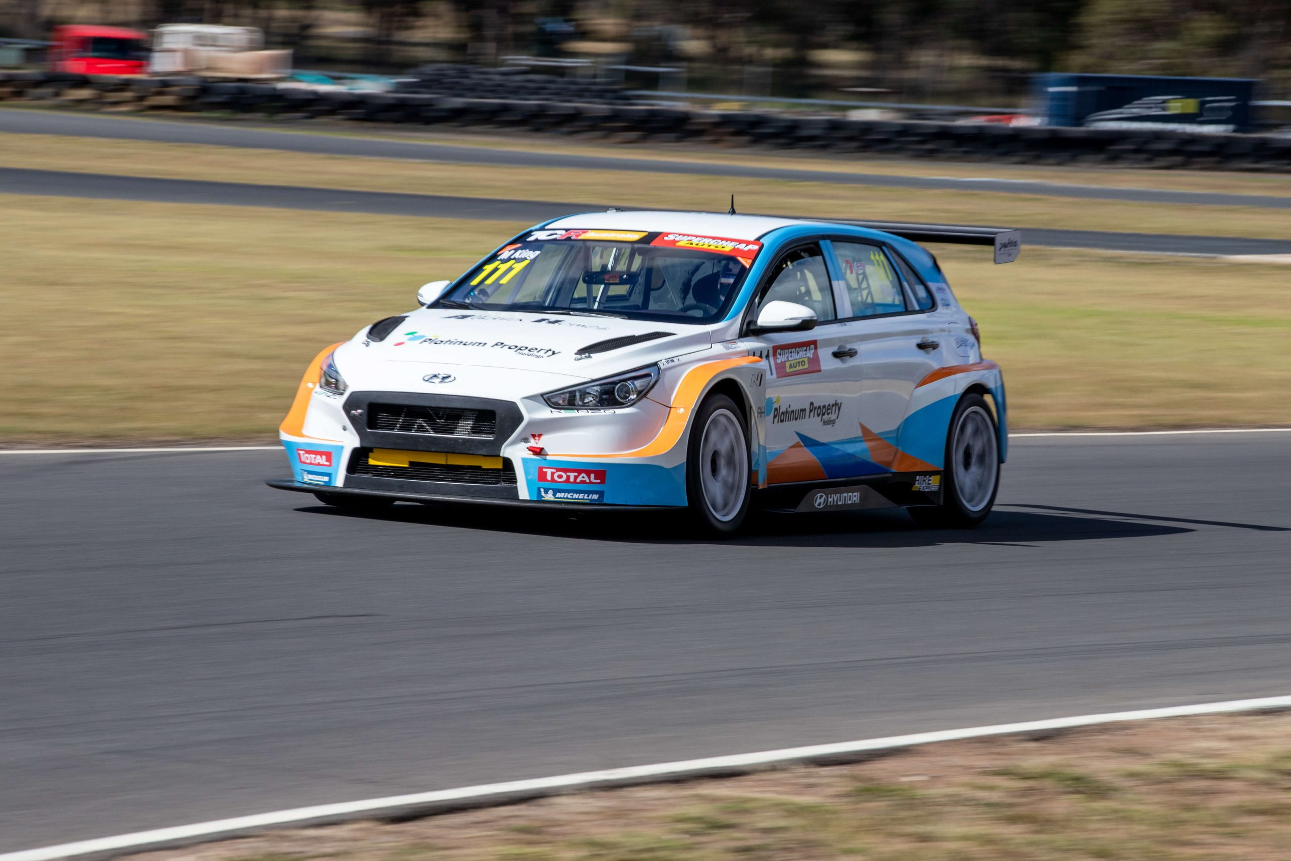 Hyundai privateer gets early look at Morgan Park in i30 N TCR