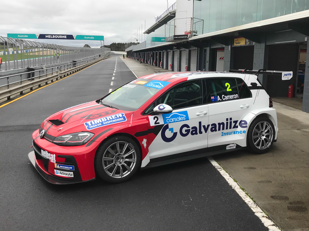 Cameron welcomes new sponsor for the Island - TCR Australia